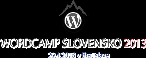 WordCamp 2013 v Bratislave