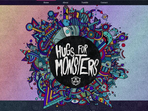 hugsformonsters.com