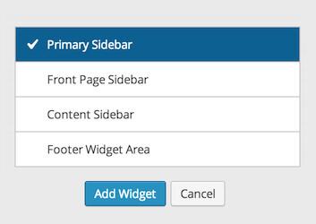 widgets-area-chooser