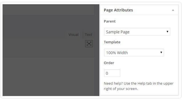 page-atributes