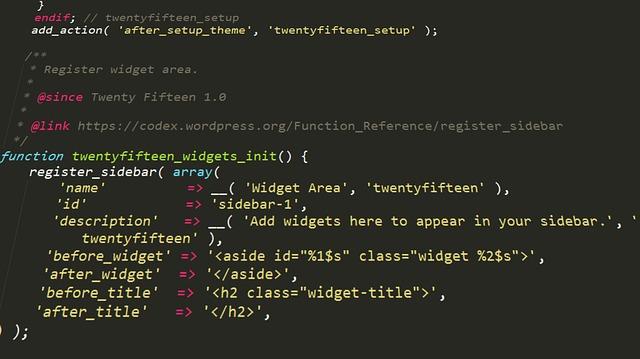 wordpress-kod