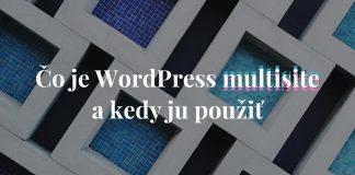 Čo je WordPress multisite