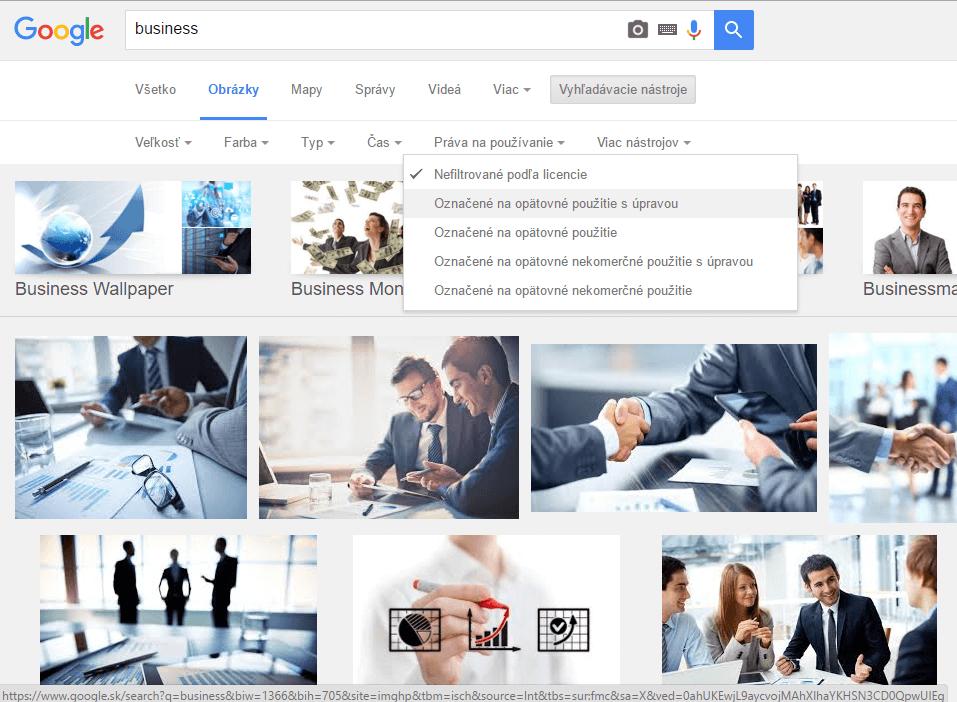 gooogle zdrojov obrázkov