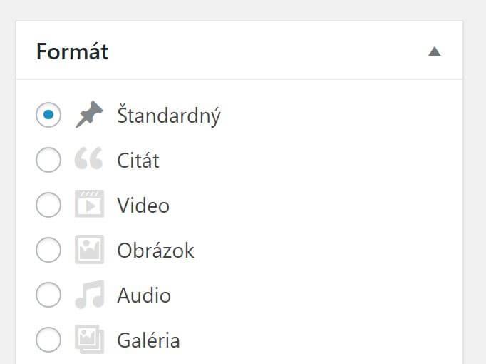 wordpress-formaty-obsahu