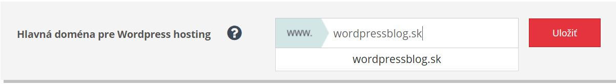 ako vytvoriť web stránku - výber domény