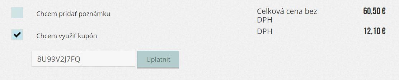 Websupport kód kupónu