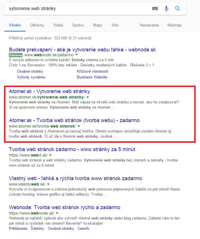 Ako zvýšiť návštevnosť web stránok pomocou Google -  Návod  03505e86c88