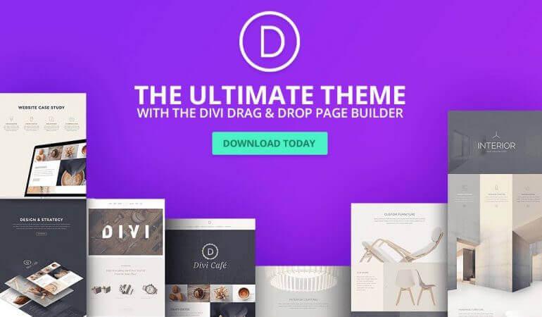 divi (elegant themes) - WordPress šablóny
