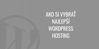 najlepší WordPress hosting