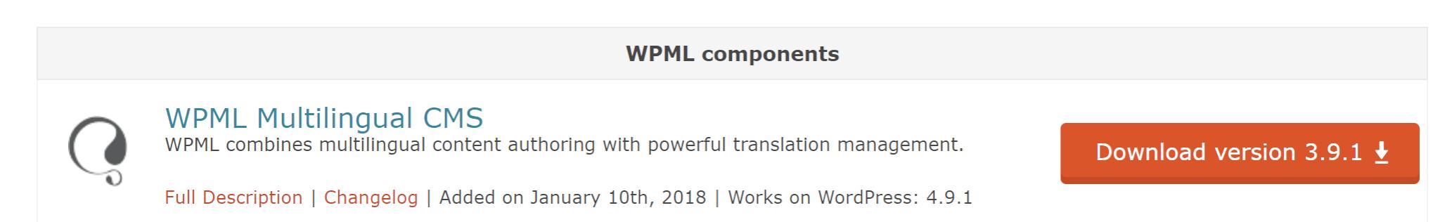 WPML balíček