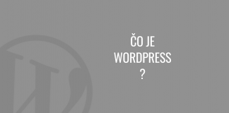 Čo je WordPress?