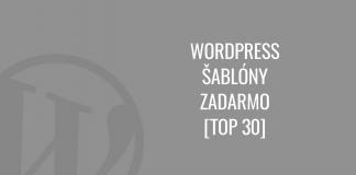 WordPress šablóny zadarmo