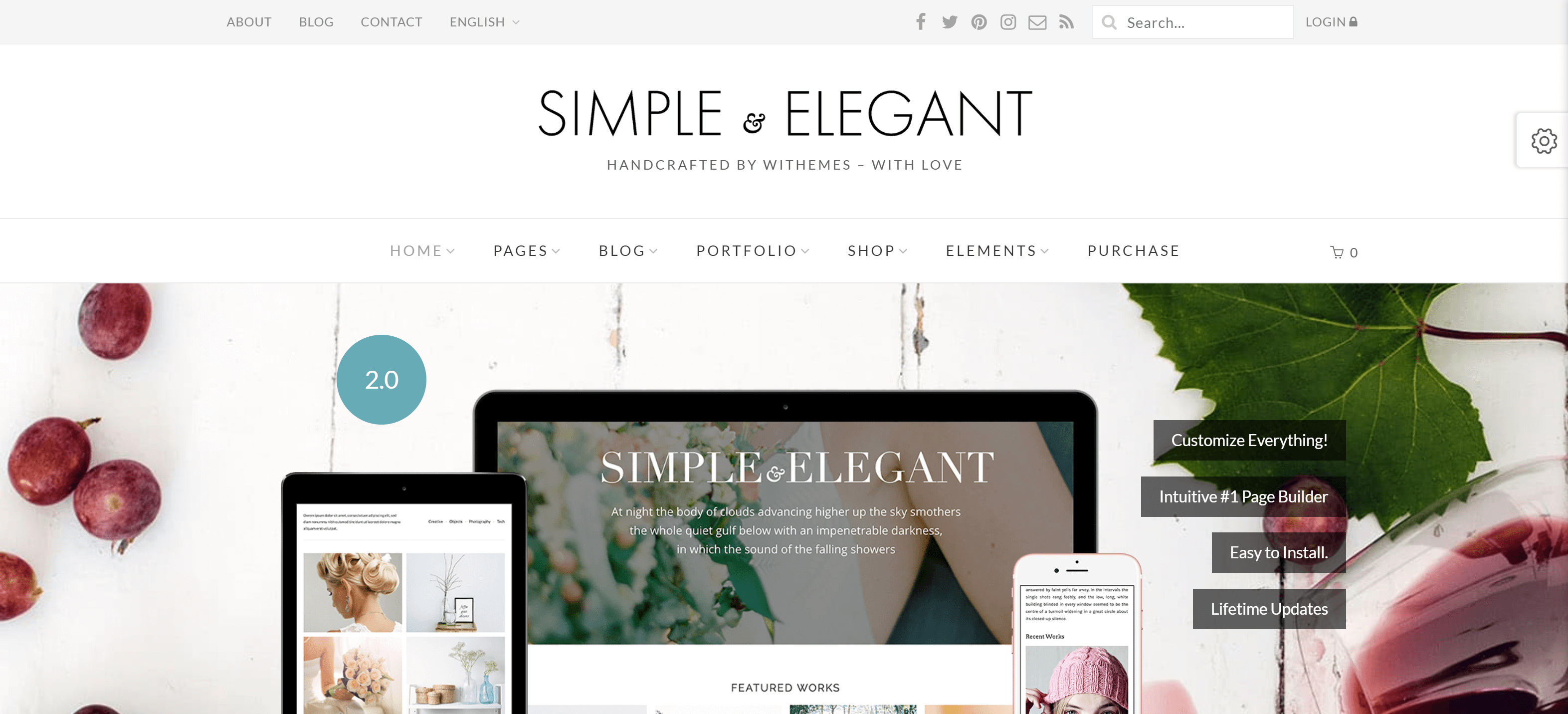 simple elegant