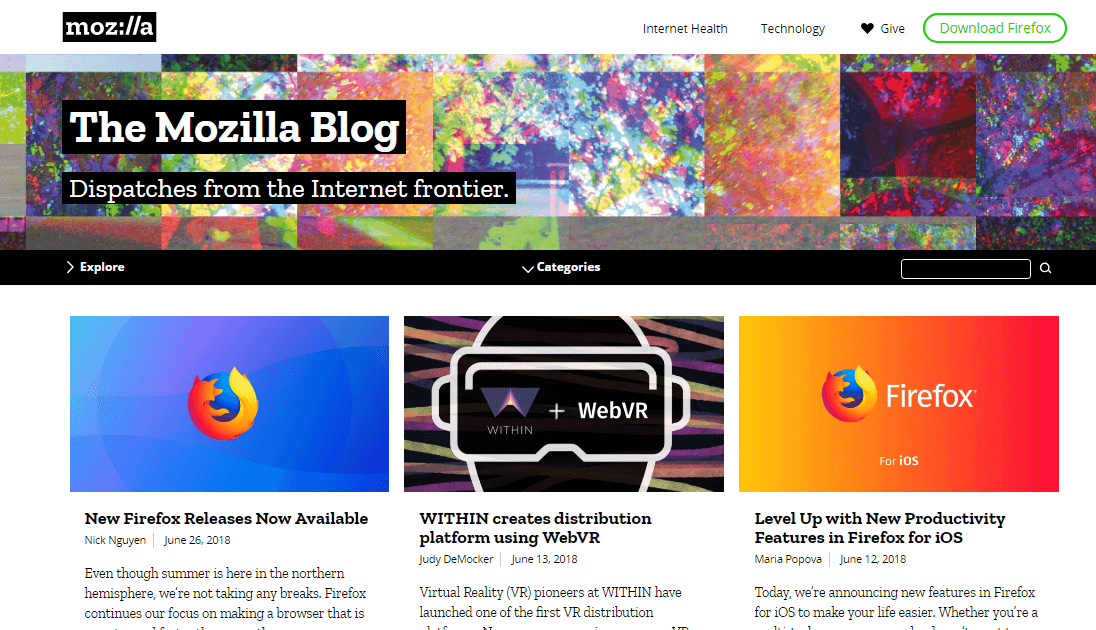 The Mozilla Blog
