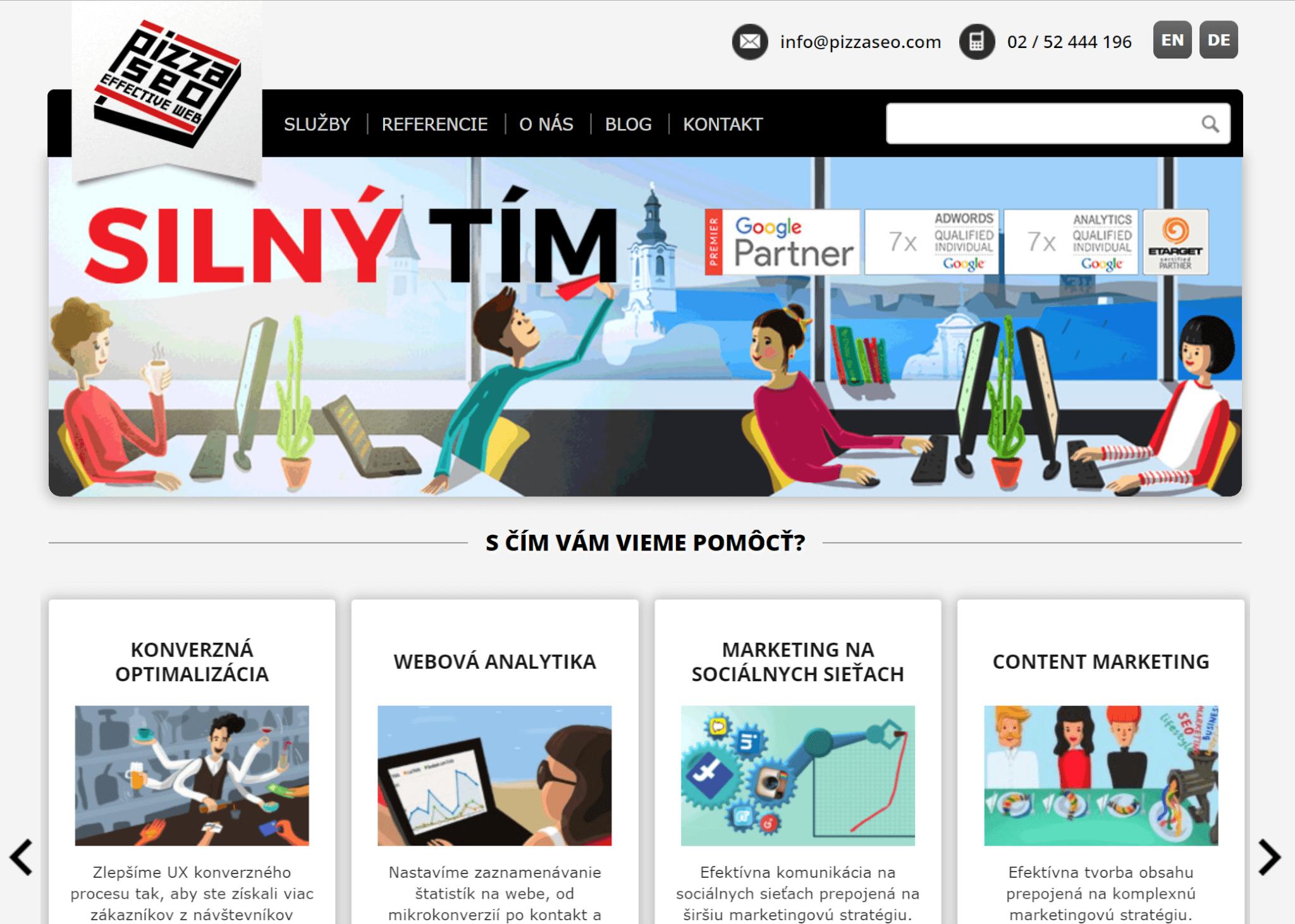 WordPress Pizza SEO