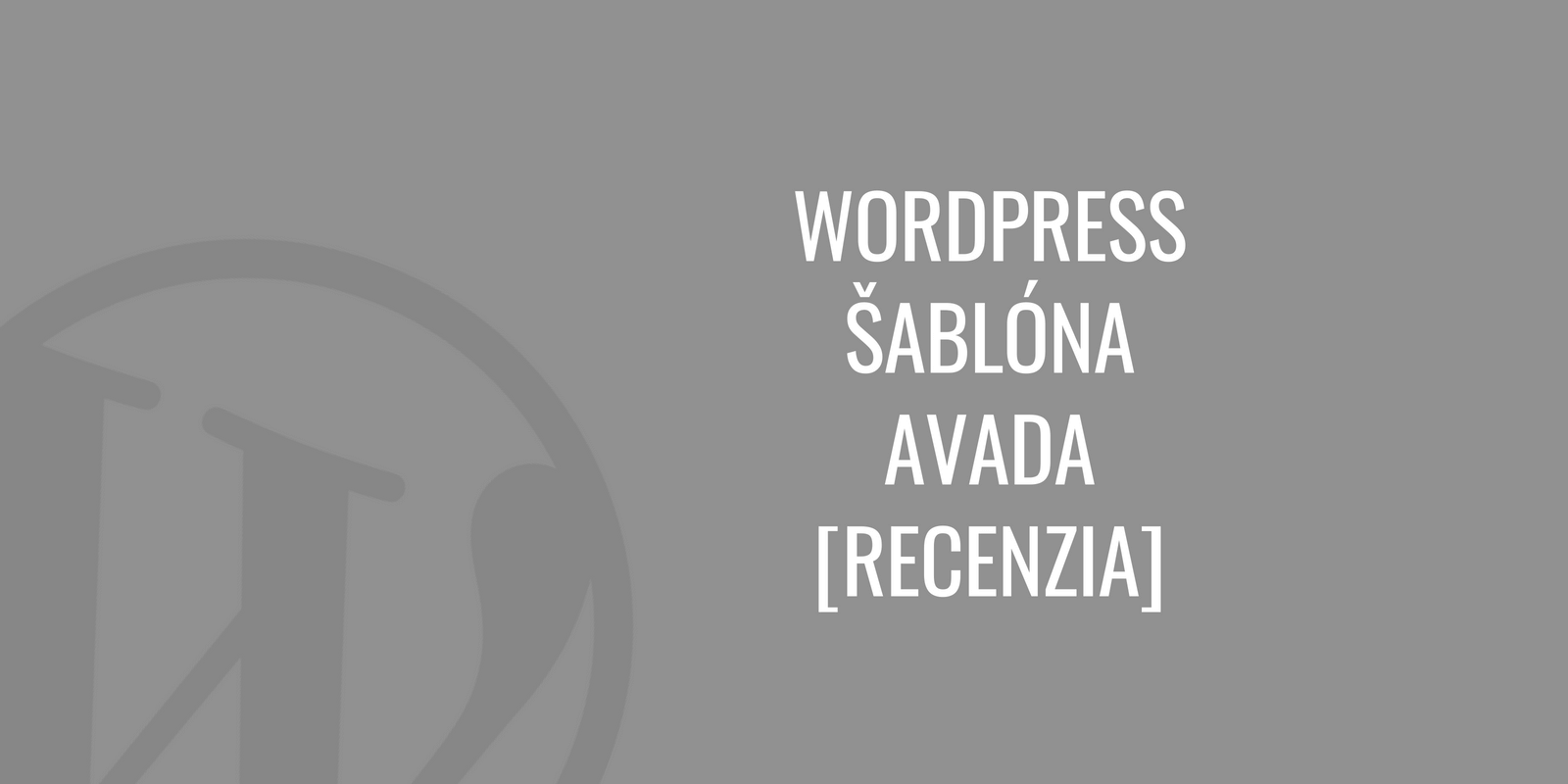 WordPress šablóna Avada