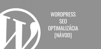 WordPress SEO optimalizácia - návod