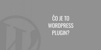 Čo je to WordPress plugin
