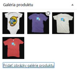WooCommerce galéria produktu
