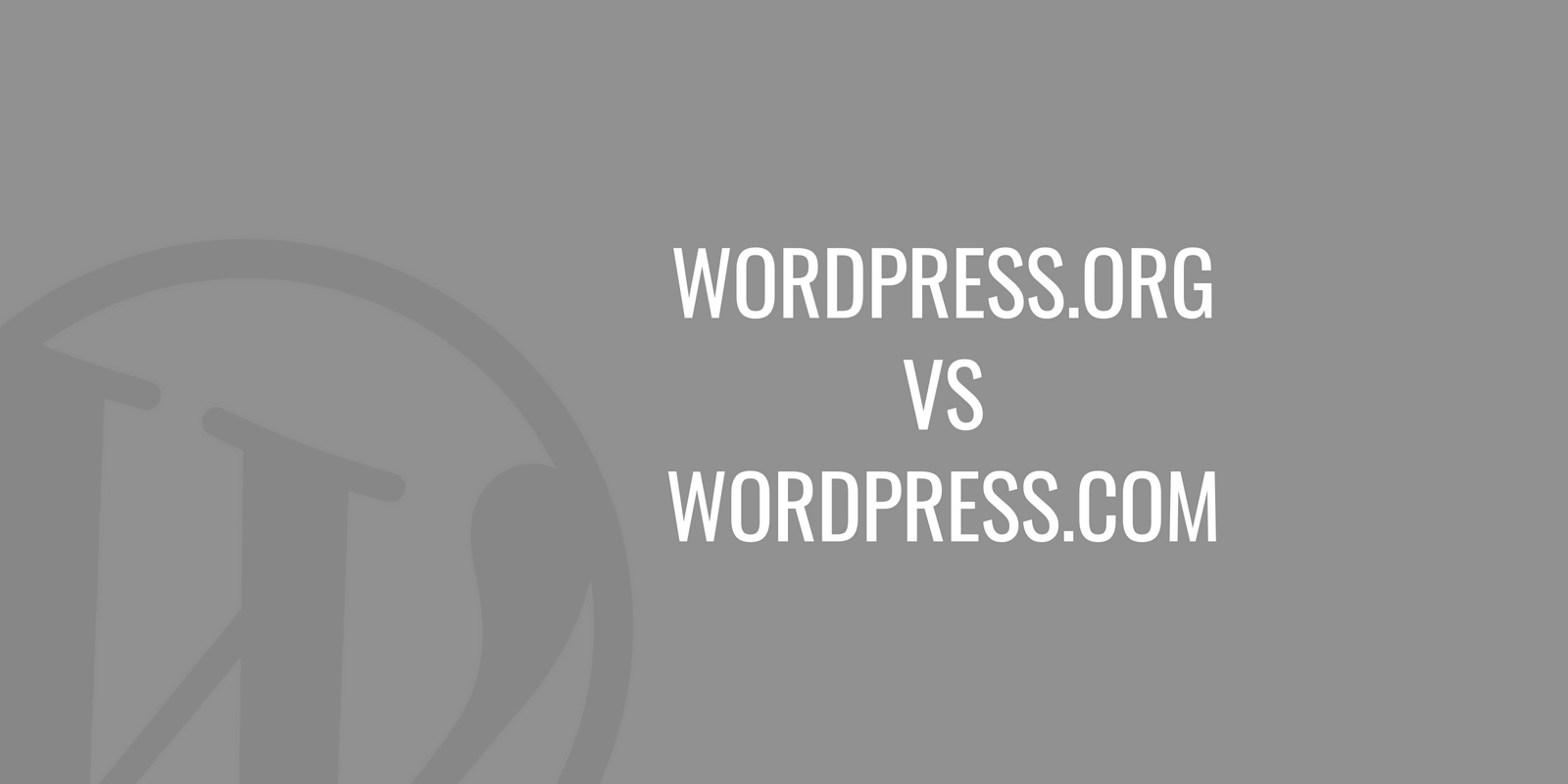 WordPress.org vs WordPress.com - rozdiely