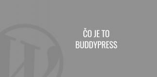 Čo je to BuddyPress
