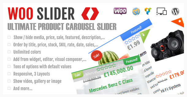 Ultimate WooCommerce Product Slider