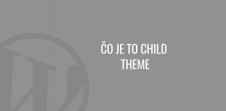 Čo je to child theme