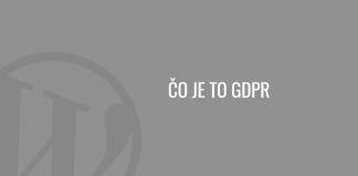 Čo je to GDPR