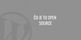 Čo je to open source
