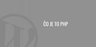 Čo je to PHP