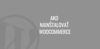 Ako nainštalovať WooCommerce