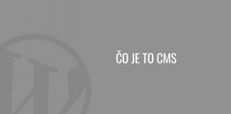 Čo je to CMS