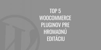 WooCommerce správa skladu
