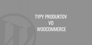 Typy produktov vo WooCommerce