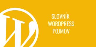 WordPress: slovník pojmov