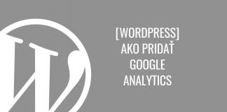 Ako si nainštalovať Google Analytics vo WordPress