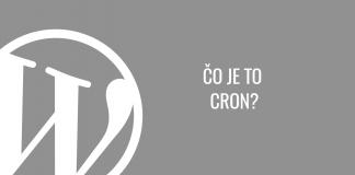 Čo je to Cron