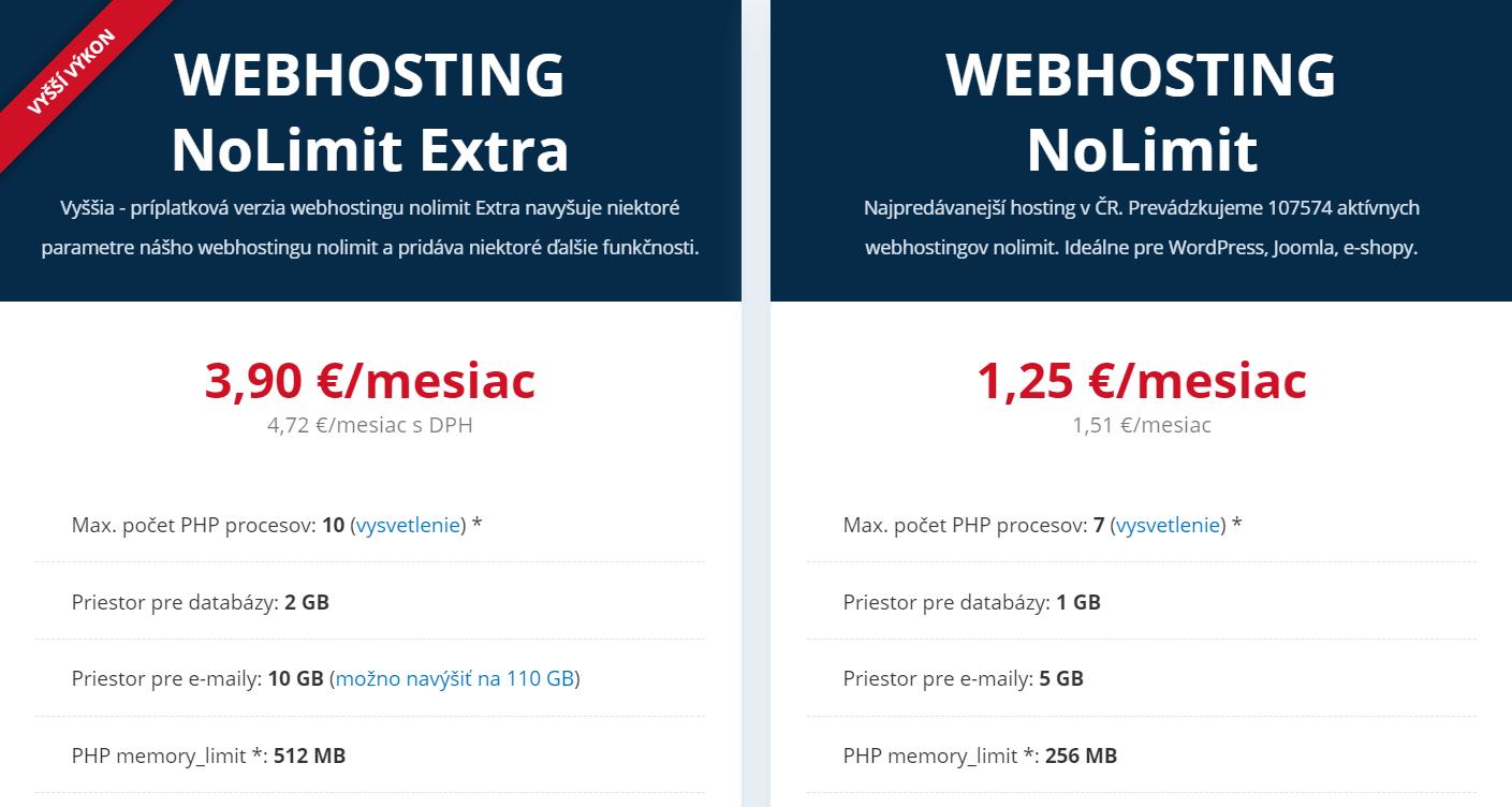 Webhostingy WEDOS