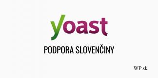Yoast SEO podpora slovenčiny